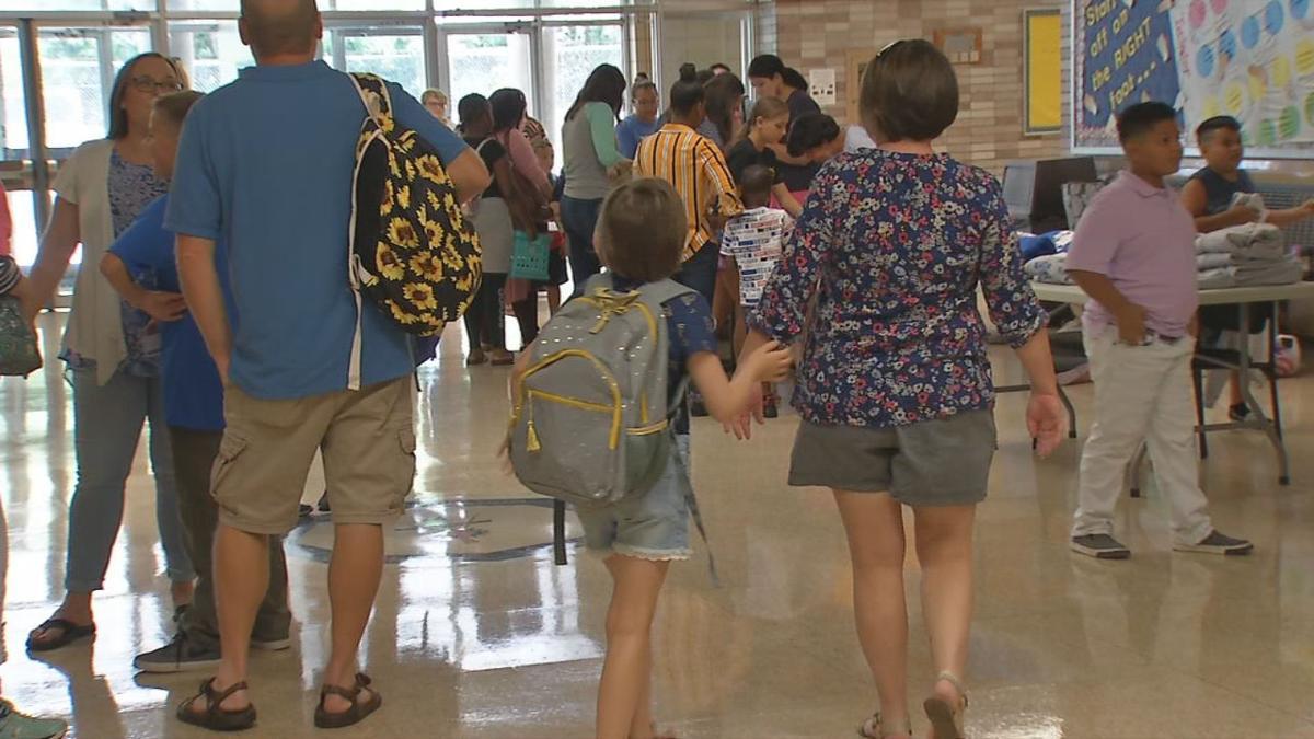 Students at J. Graham Brown School