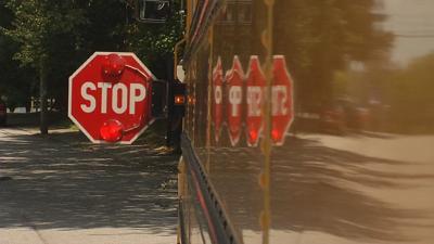 Generic School Bus (with stop arm)