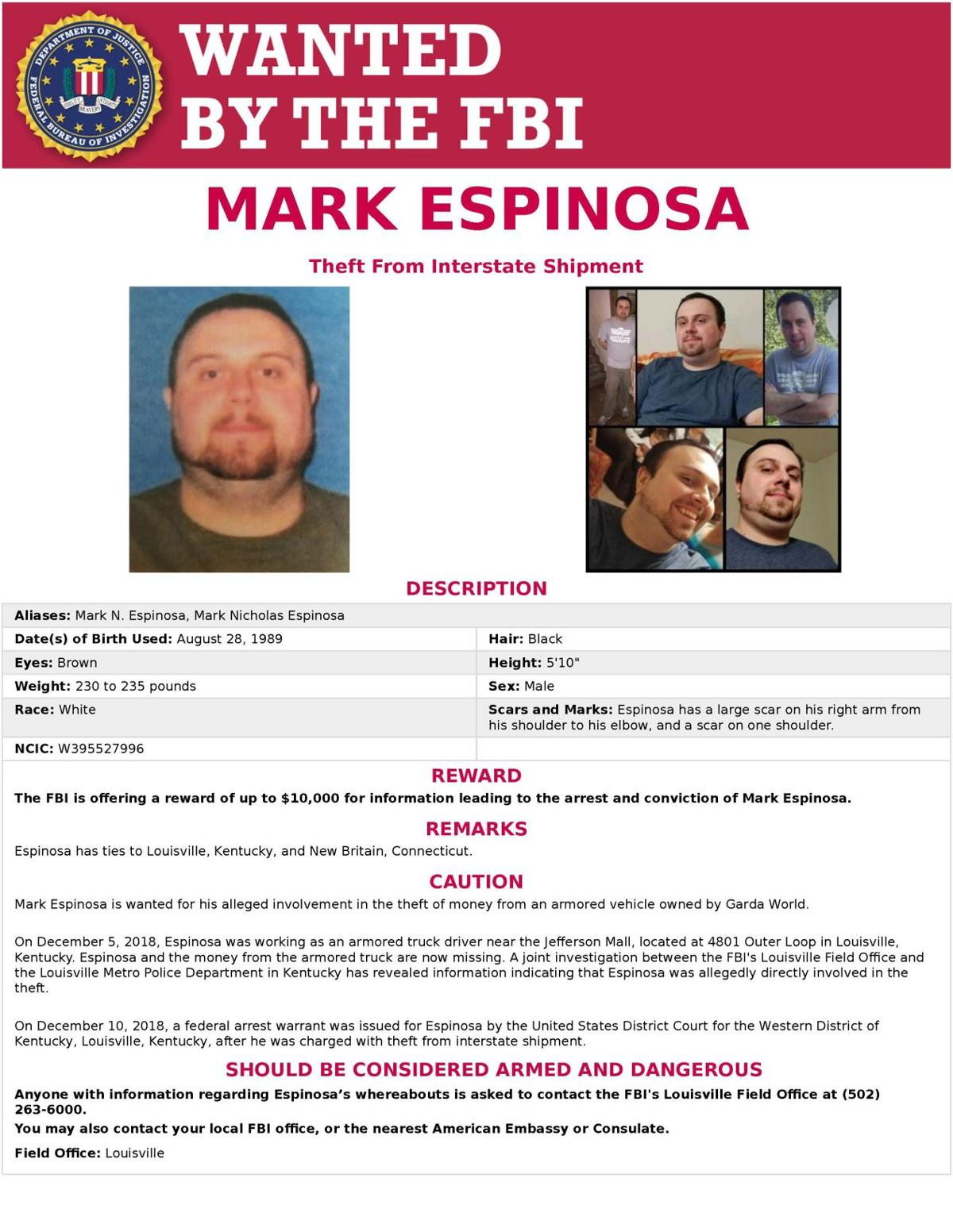Missing Persons Report Louisville Ky
