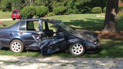 One dead, one injured in car crash outside North Harrison H.S.