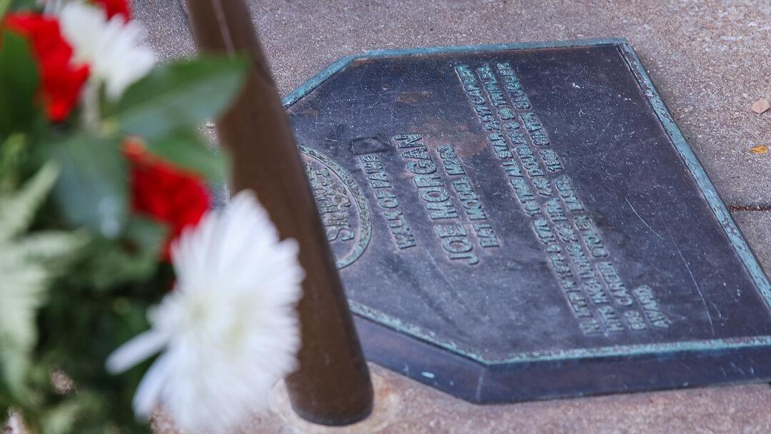 Joe Morgan memorial