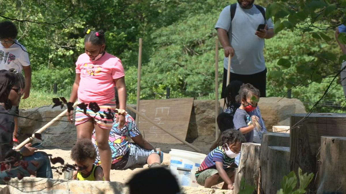 Officials unveil new playground and laboratory at Bernheim Forest