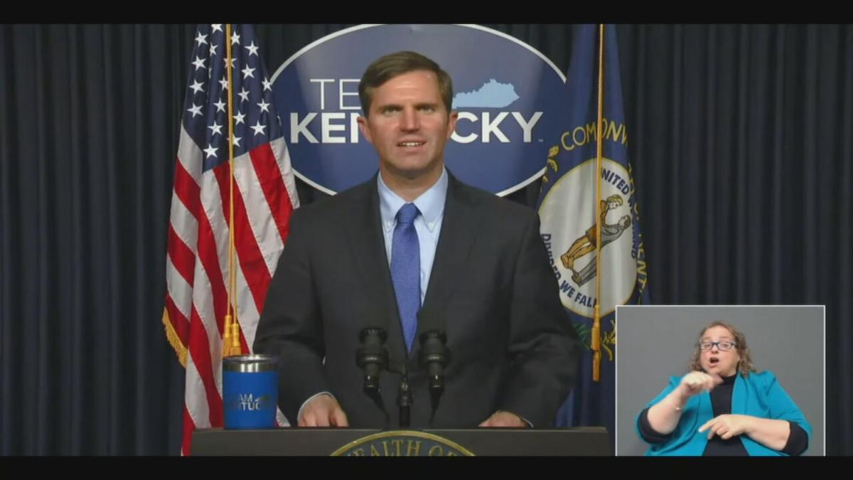 Kentucky Governor Andy Beshear March 29,2021 COVID-19 press briefing