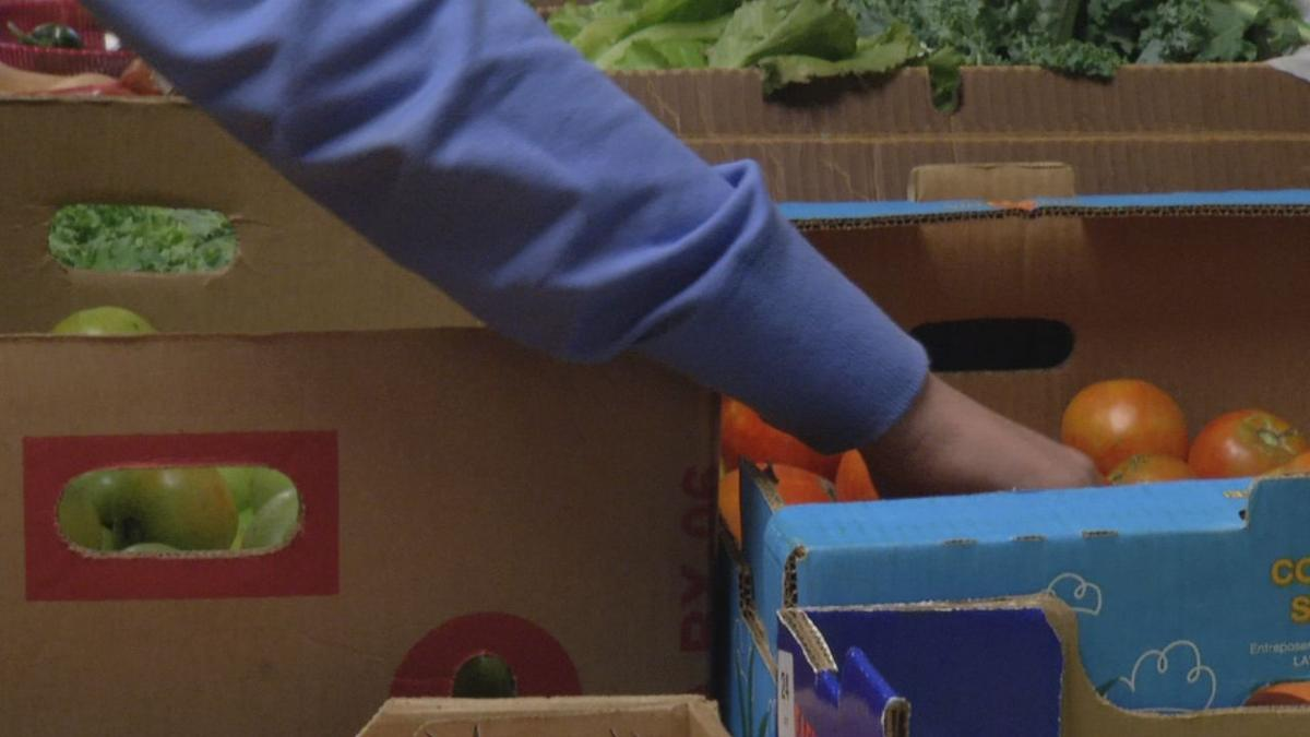 Family tragedy leads to weekly food pantry at Seneca High School