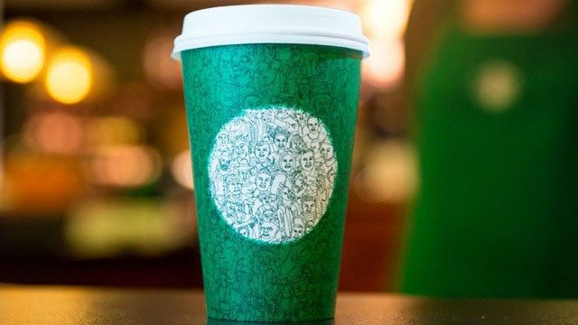 Starbucks debuts green cup to encourage unity during divisive election season