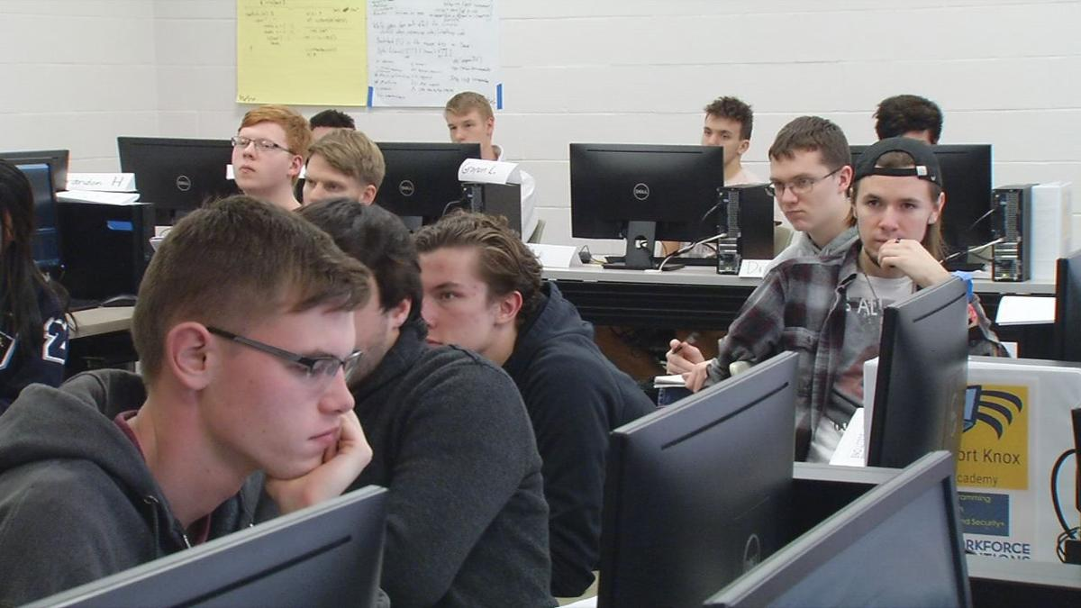 Code writing academy at ECTC