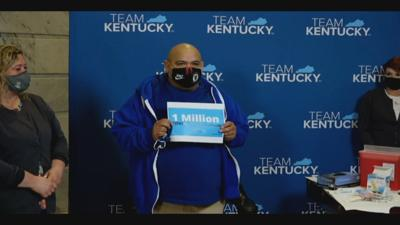 One millionth Kentucky resident gets COVID vaccine