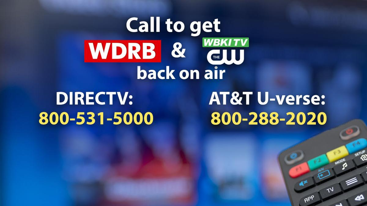 DIRECTV, ATT U-verse pull WDRB and WBKI from their lineup | Archive
