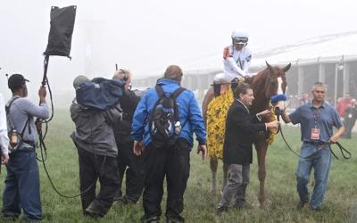 Justify wins 143rd Preakness Stakes, earning second jewel of the Triple Crown