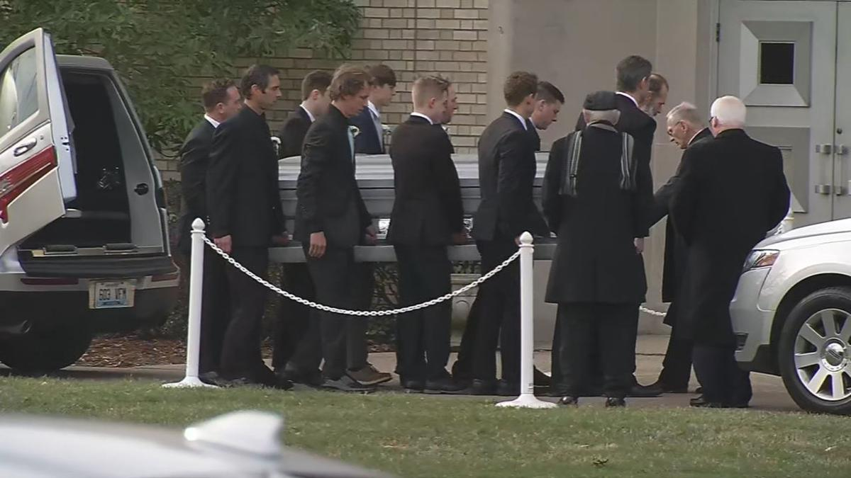 Casket for Carrie and Kacey McCaw