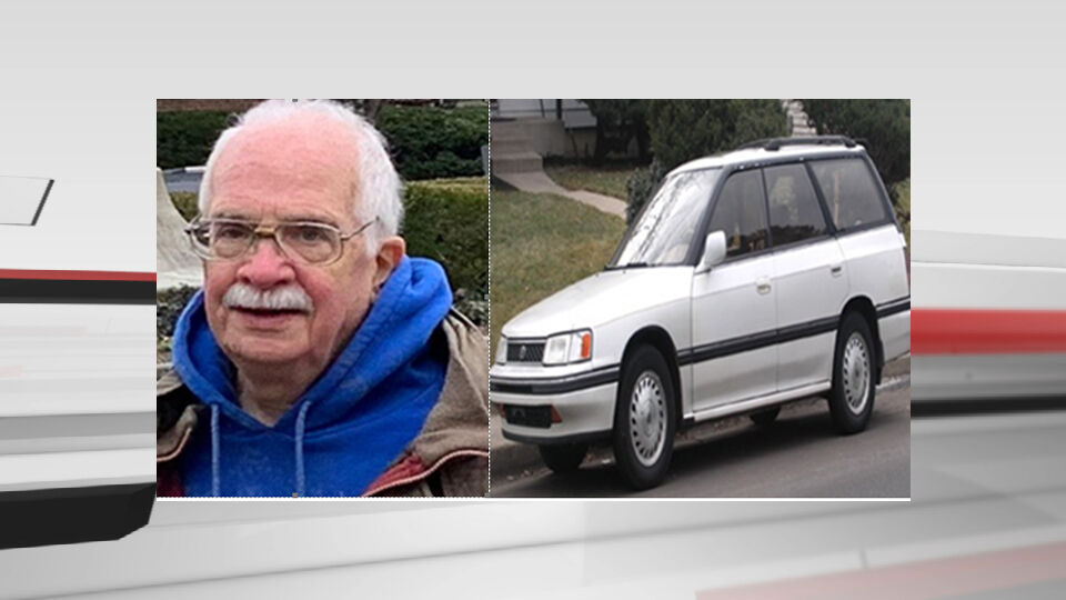 John K. Green and vehicle he was last seen driving