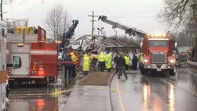 Authorities identify truck driver killed in crash with pedestrian crossing bridge in Clarksville