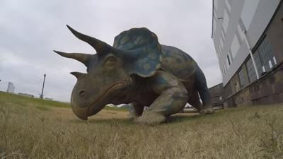 Group working to bring Louisville's lost dinosaur back from extinction