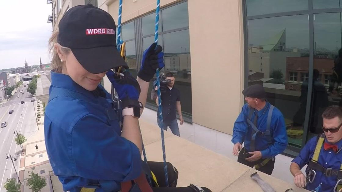 GINA ON THE JOB: Facing fears to wash windows and become a 'building whisperer'