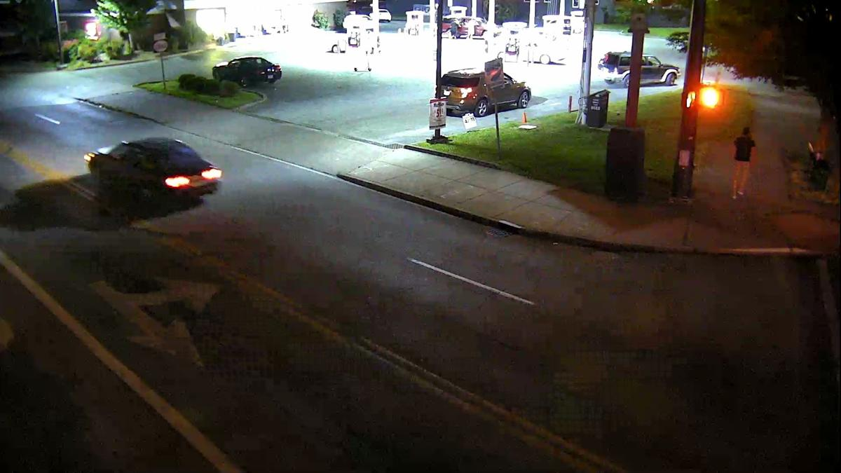 Surveillance image of vehicle involved in Friday, June 19, 2020 hit-and-run on Bardstown Road