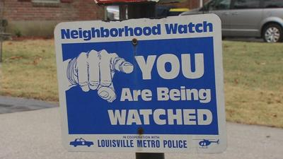 Residents of east Louisville band together warning others of garage and car break-ins