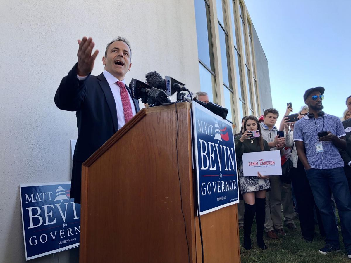 Bevin campaign rally 10-14-19