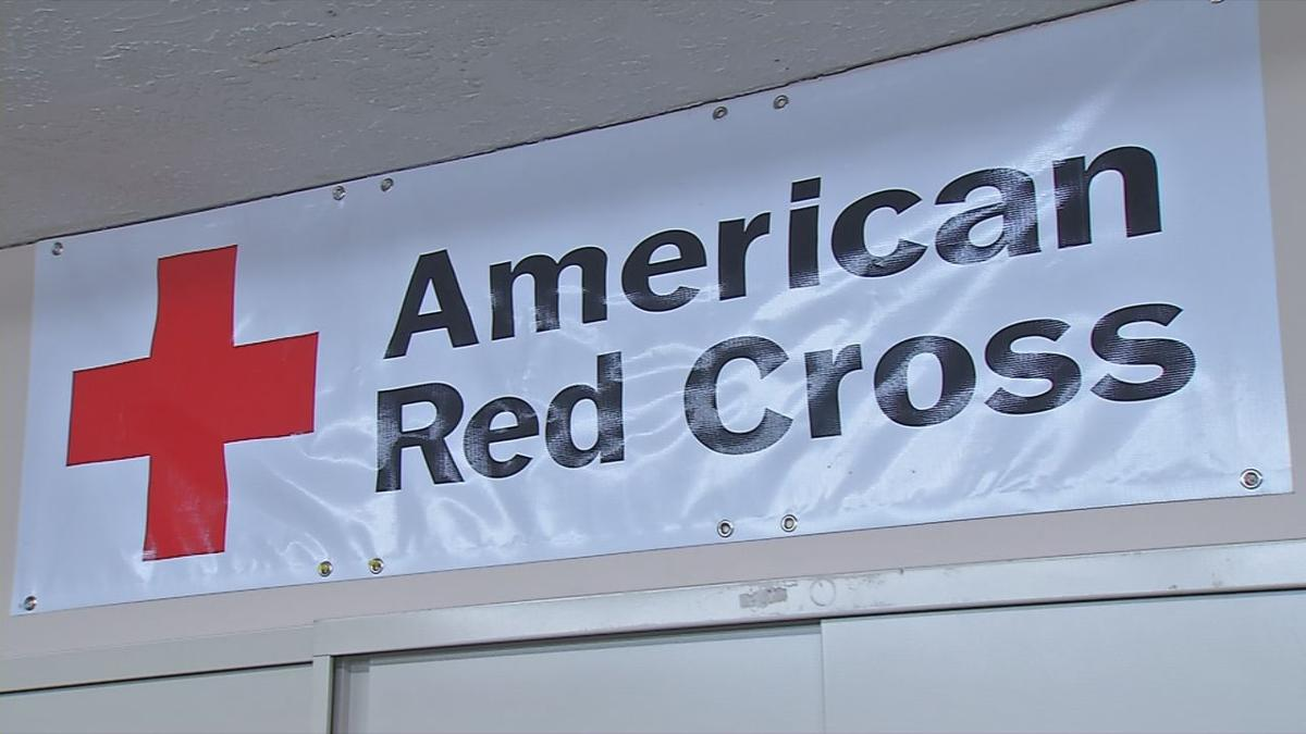 American Red Cross sign