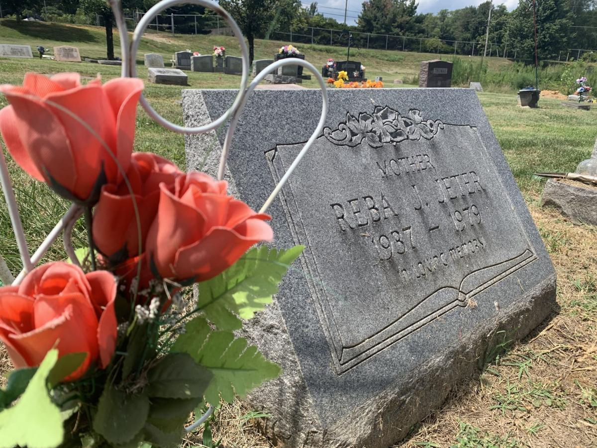 Grave of Reba Jeter