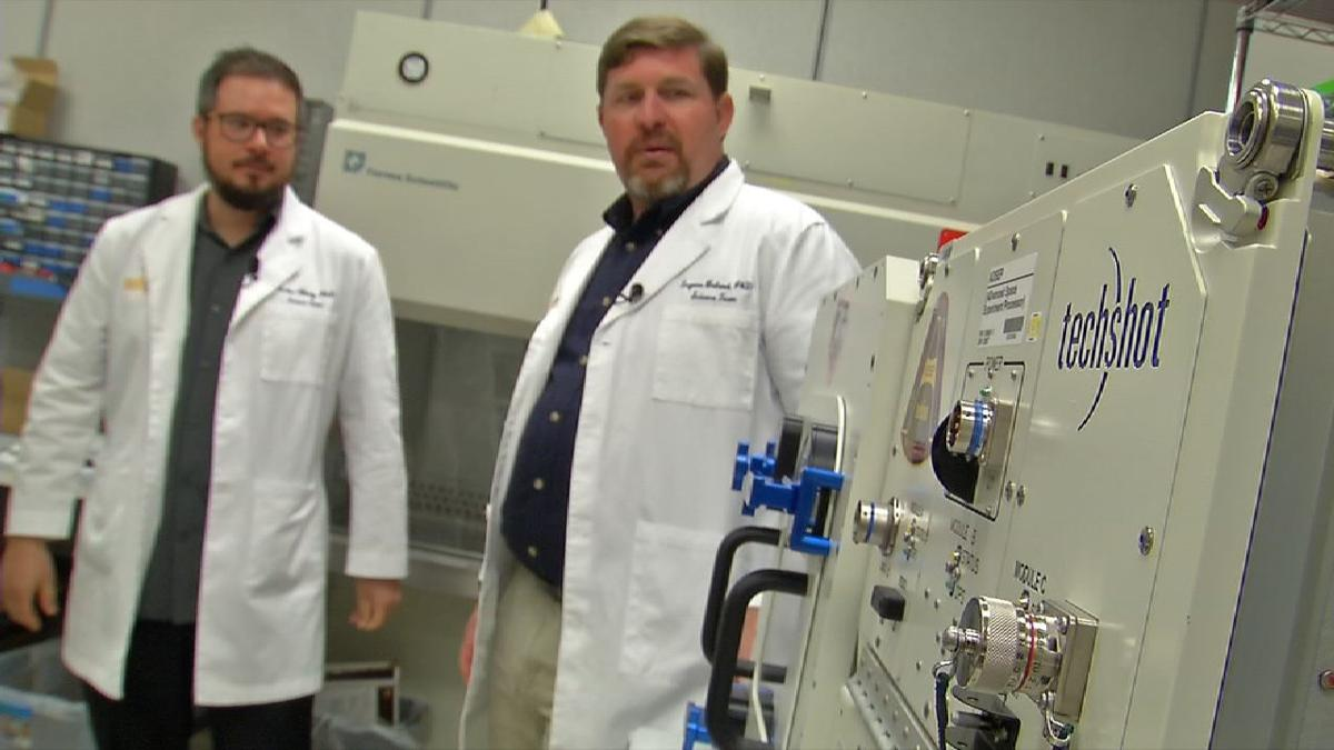 Southern Indiana tech company partners with NASA to grow human organs in space
