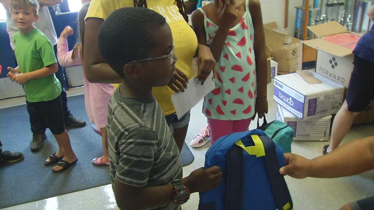 JCPS and Louisville Metro Government host backpack giveaway | News