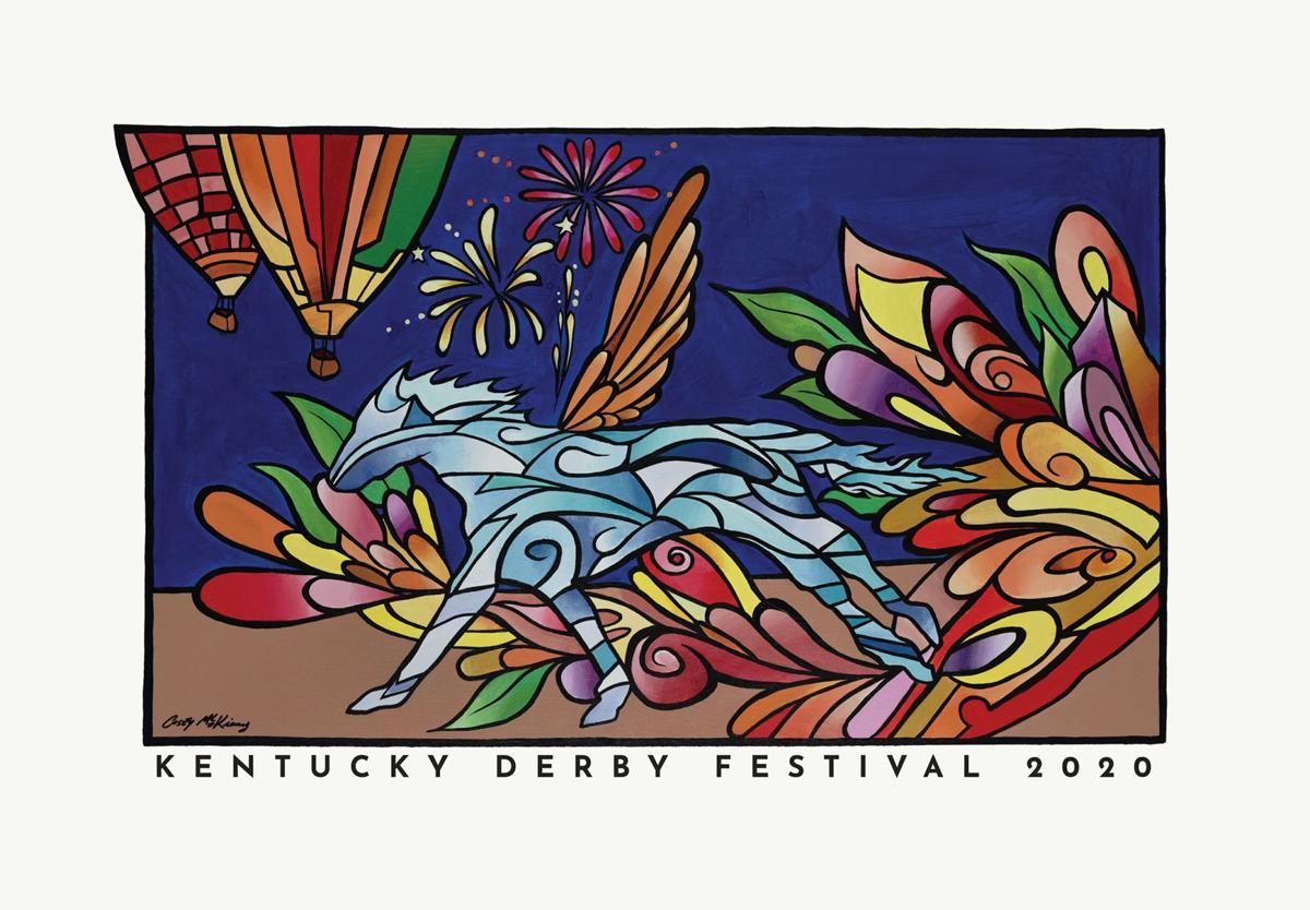 Kentucky Derby Festival Derby 2020 poster