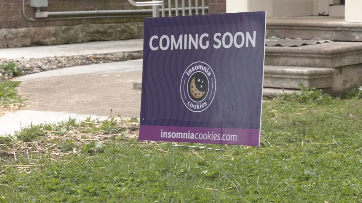 Insomnia Cookies Coming Soon sign Baxter Avenue.jpeg