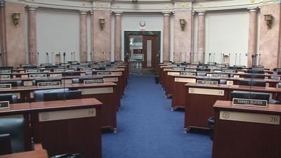 Kentucky Capitol Empty Seats
