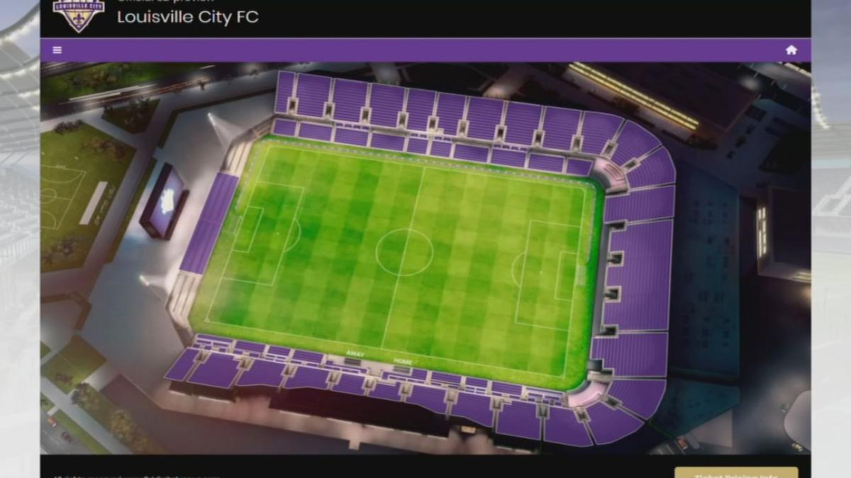 Louisville City FC seating chart released