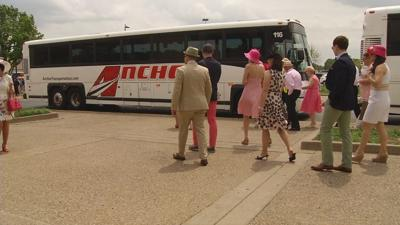 Churchill Downs' new transportation plan getting first big test on Oaks Day