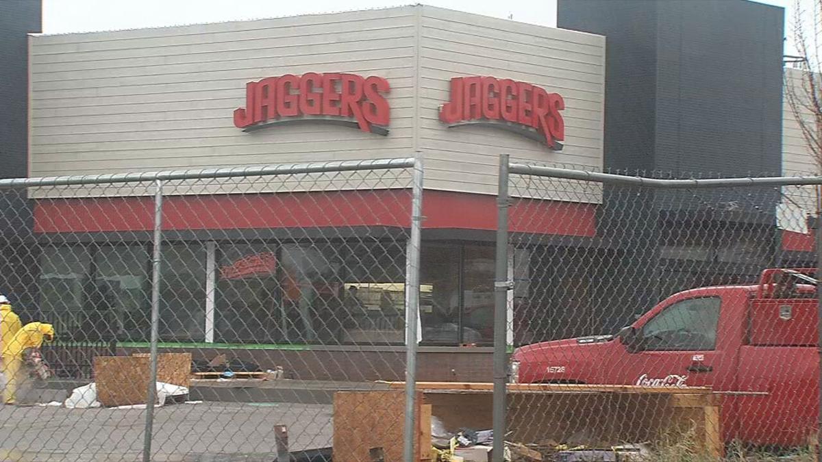 Construction of Dutchmans Lane Jaggers location