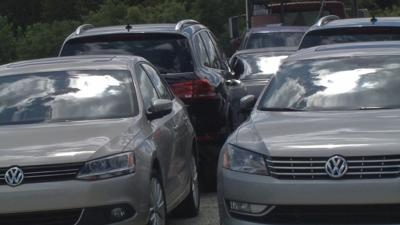 9 missing VWs from Michigan found on Radcliff lot part of national probe