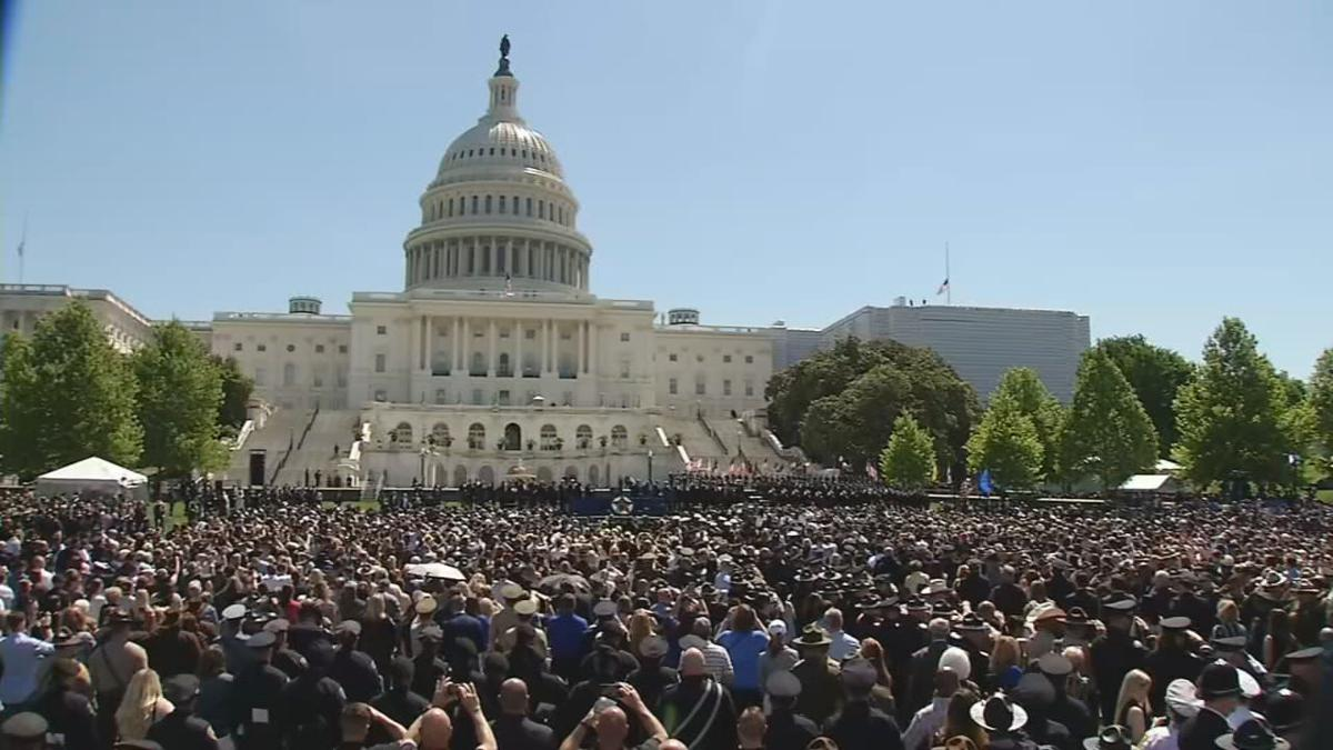 National Police Officer Memorial Day in Washington, D.C.