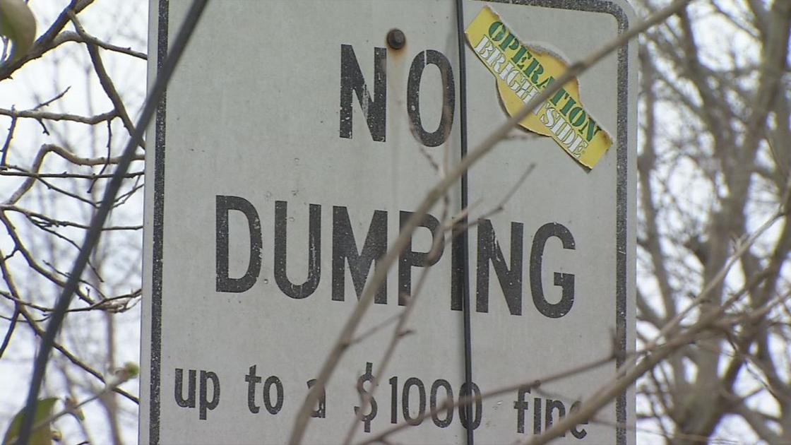 Louisville fines dozens of people for illegally dumping