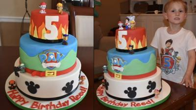 Louisville woman is baking a difference though cakes donated to ill kids