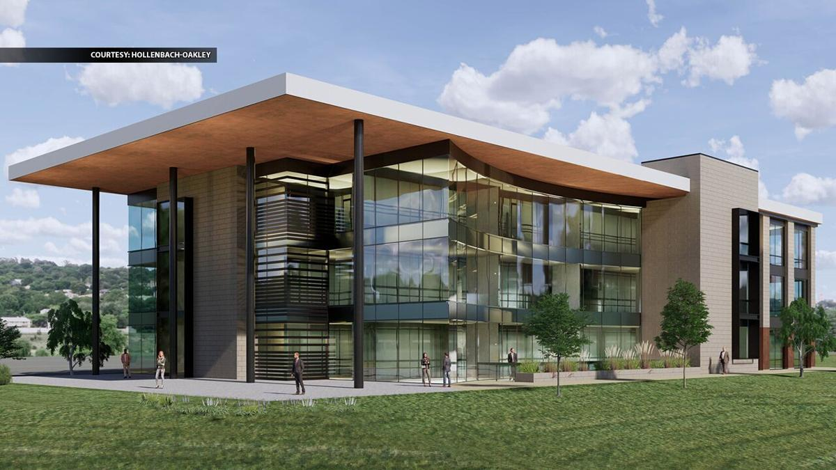 River Ridge Commerce Center office building rendering