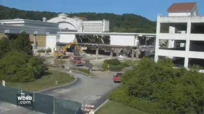 Demolition underway as Horseshoe Southern Indiana moves casino to dry land