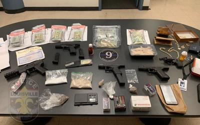2 Louisville men arrested after LMPD uncovers hundreds of grams of