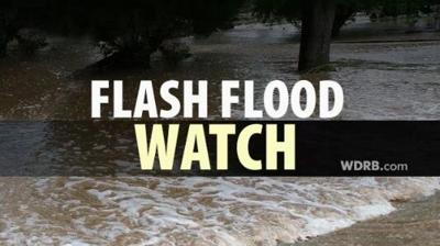 Flash Flood Watch Issued Wednesday