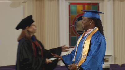 50-year-old ex-convict defies odds to become college graduate