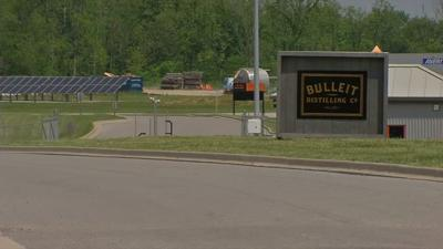 Bulleit Distilling Company sign