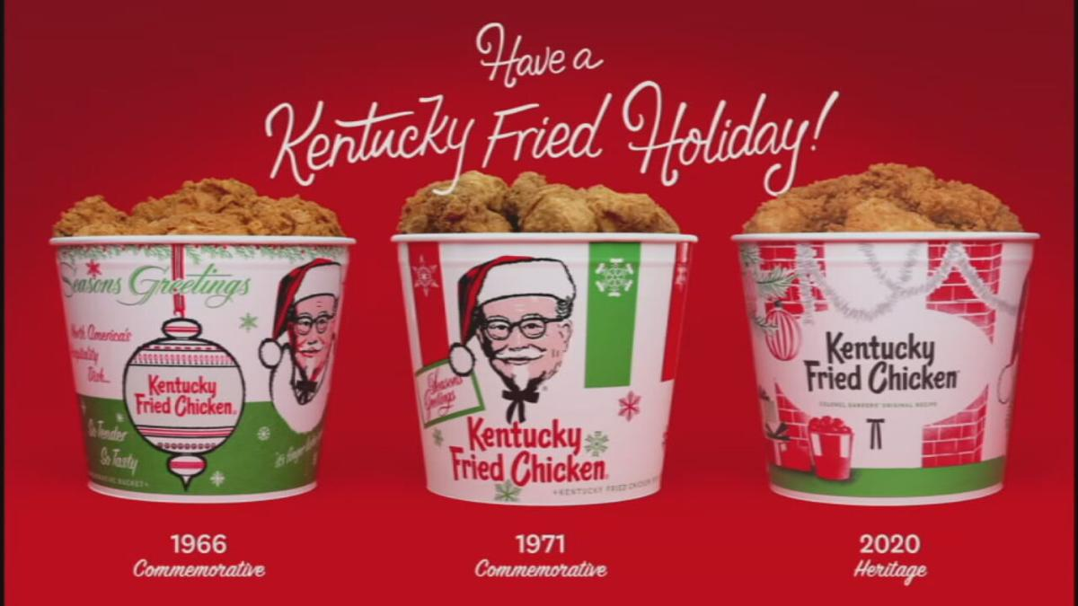 KFC re-releasing classic holiday buckets from years past ...