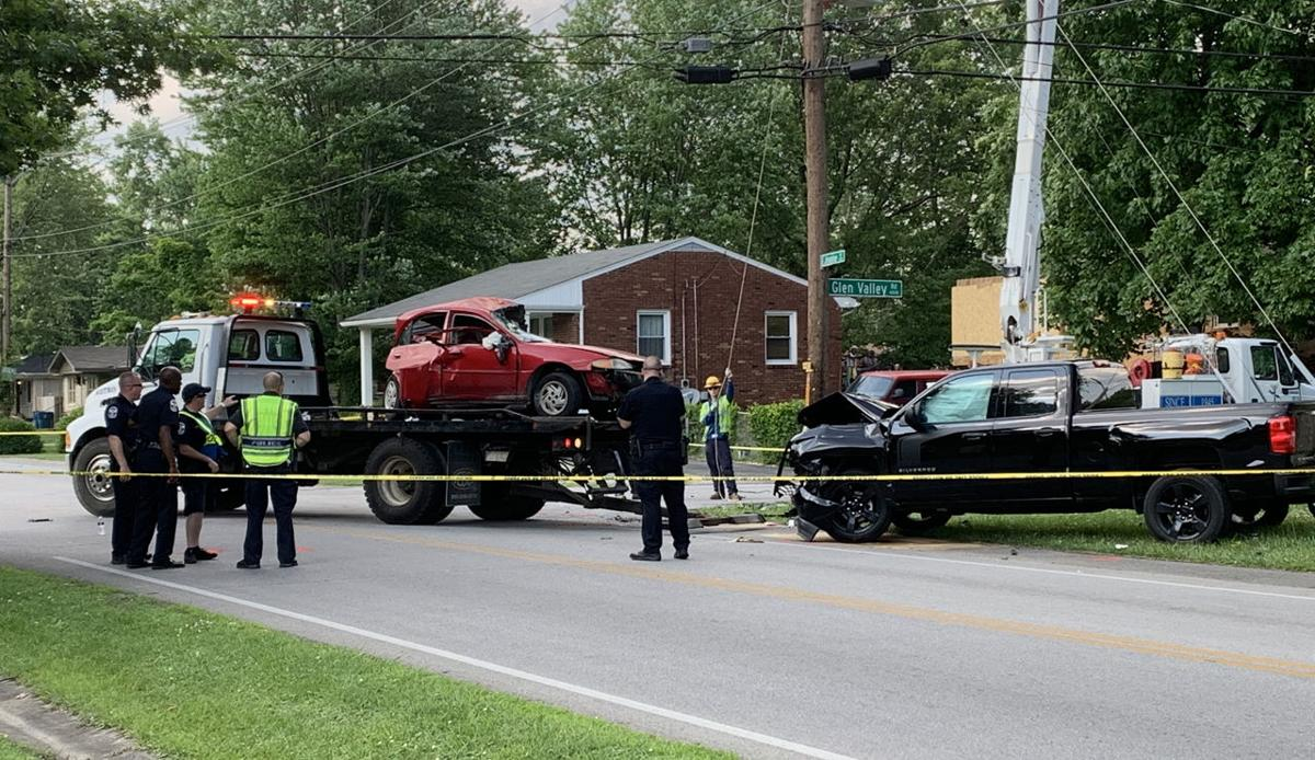 One person dead after 2-vehicle crash near Newburg neighborhood