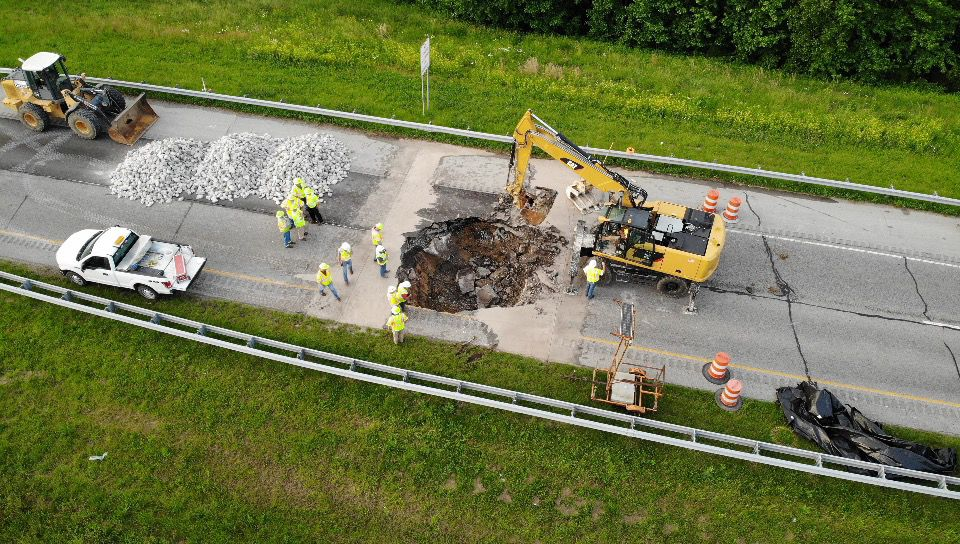 Image result for i 265 sinkhole