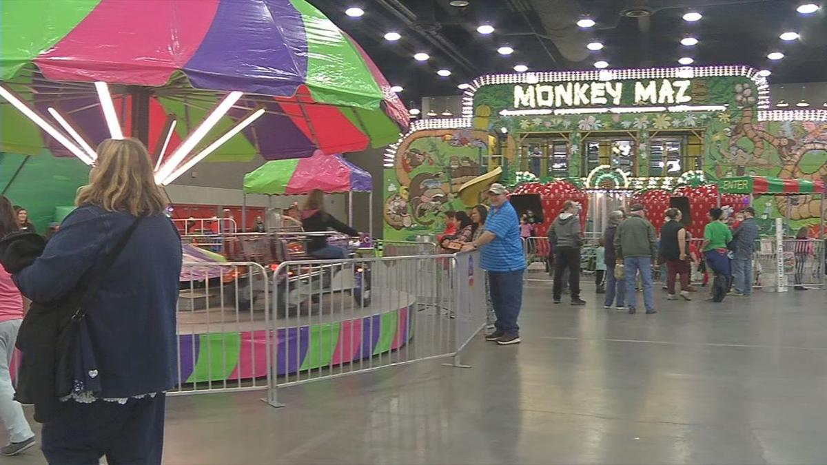 Indoor Carnival Monkey Maze