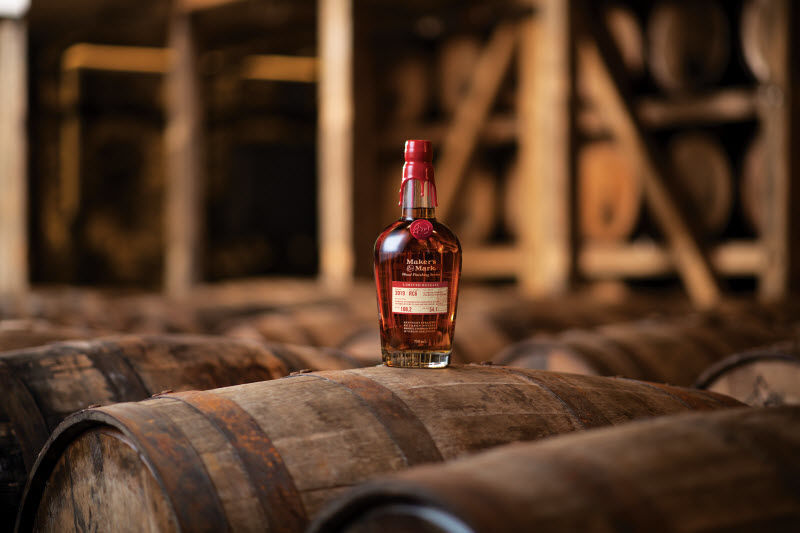 Makers Mark RC6 on Barrel