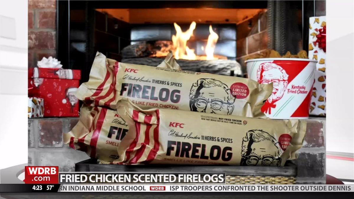 KFC introduces firelogs that smell like Kentucky Fried Chicken