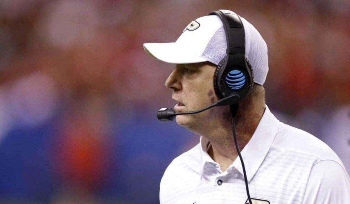 BOZICH   Brohm turns down Louisville to remain at Purdue