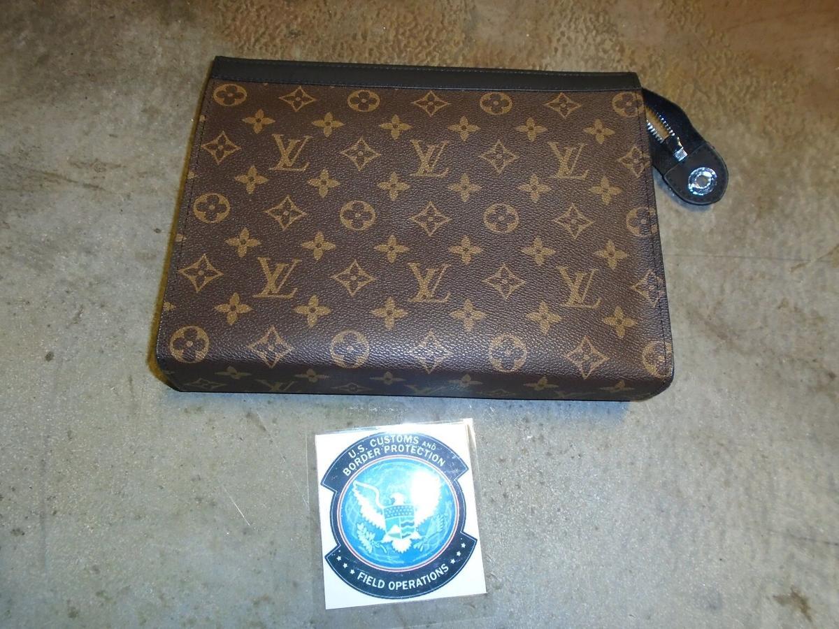 Counterfeit Louis Vuitton handbag seized at Louisville International Airport on Sept. 17, 2020