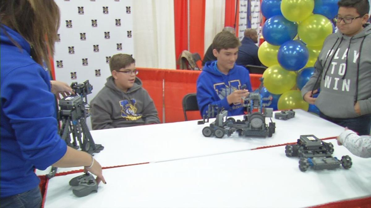 More than 150 schools were represented at the annual Showcase of Schools